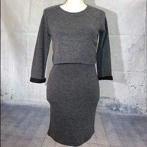 FOREVER 21 GREY BODYCON DRESS - WOMEN'S SIZE SMALL
